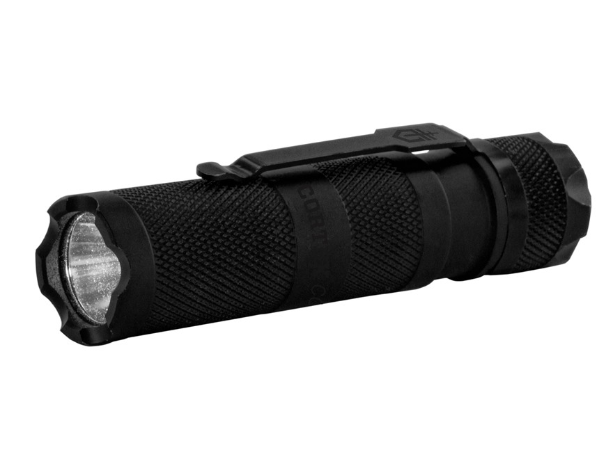 Gerber Cortex Compact Flashlight LED with 1 AA Battery Aluminum Black