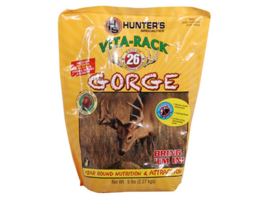 Hunter's Specialties Vita-Rack 26 Gorge Acorn Deer Supplement Granular 5 lb
