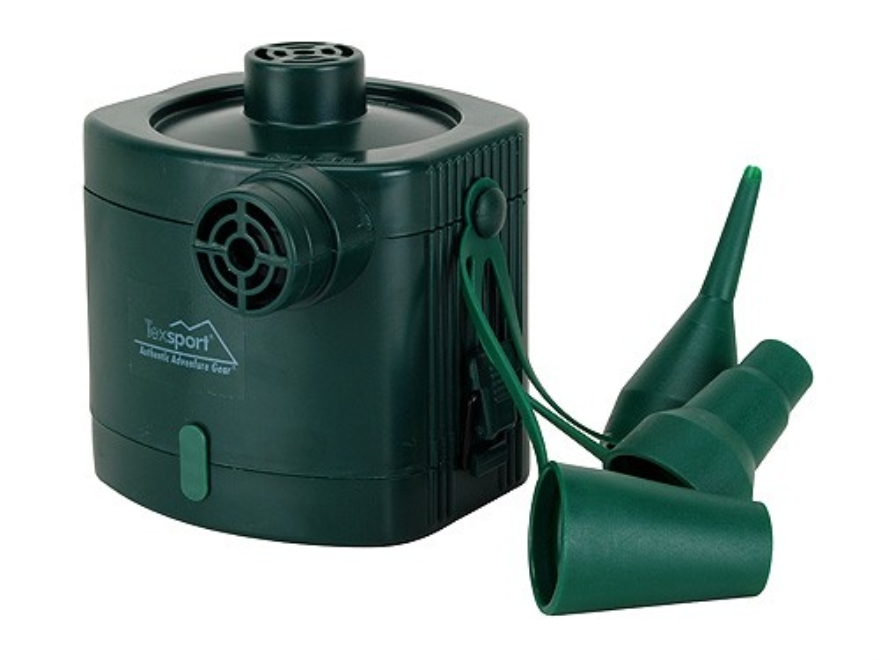 Texsport Battery Air Pump Green