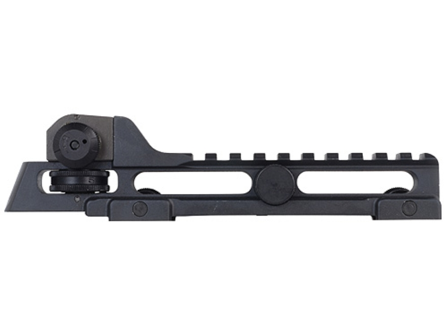 Wilson Combat Tactical A3 Detachable Carry Handle with A2 Rear Sight AR-15 Aluminum Matte