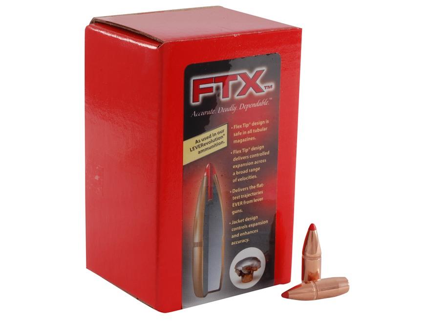 Hornady FTX Bullets 30-30 Winchester (308 Diameter) 160 Grain Flex Tip eXpanding Box of...