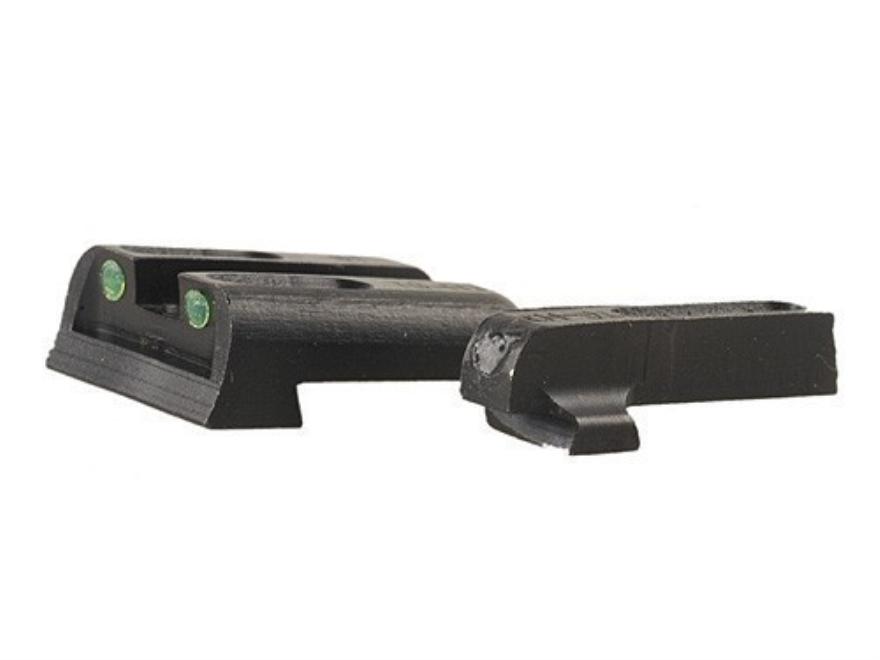 TRUGLO TFO Sight Set Sig Sauer #8 Front #8 Rear Steel Tritium / Fiber Optic