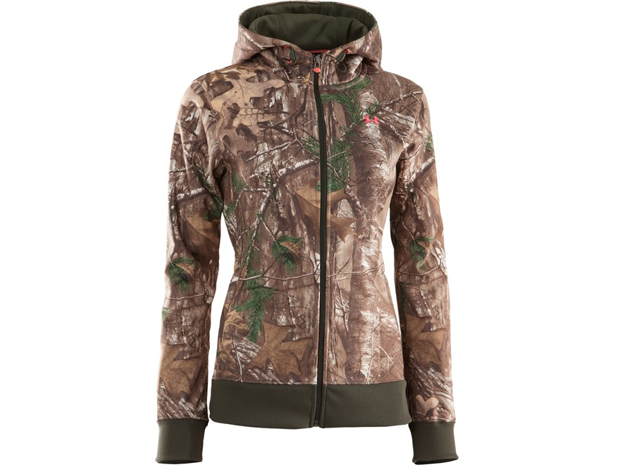 Under Armour Women's Camo Full Zip Hooded Sweatshirt