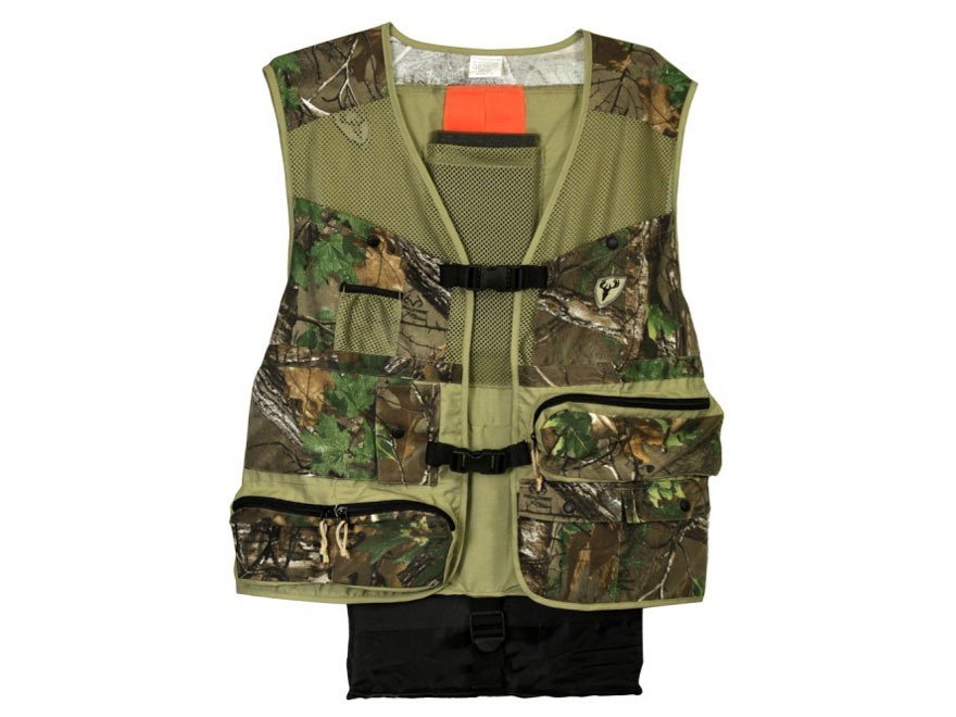 ScentBlocker Torched Turkey Vest Polyester Realtree Xtra Green Camo XL