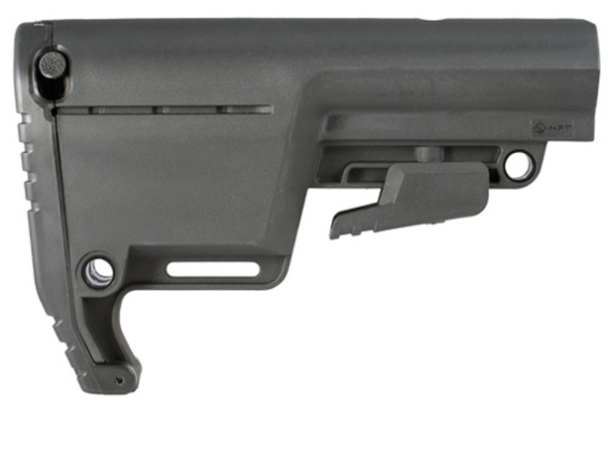 Mission First Tactical Battlelink Utility Low Profile Collapsible Stock AR-15, LR-308 Polymer