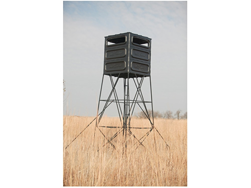 Big Game The Trophy Box Blind Polymer Black