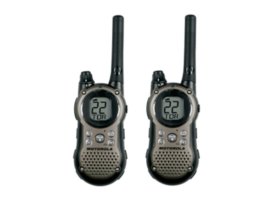 Motorola Talkabout T9680RSAME Two-Way Radio Gray Pack of 2