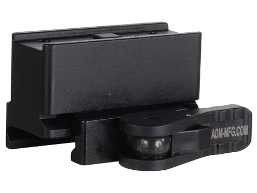 American Defense AD-T1-10 Quick-Release Aimpoint Micro T-1, T-2, H-1 Sight Mount Picatinny-Style AR-15 Flat-Top Matte