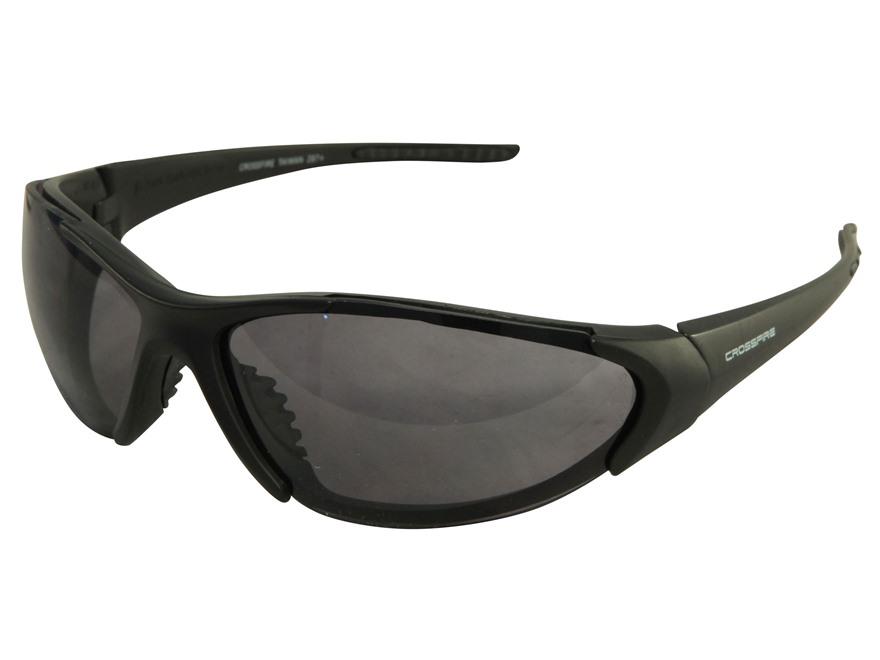 Crossfire Blitz Sunglasses Matte Black Frame Smoke Lenses
