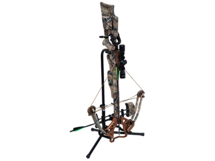 Ameristep Ground Blind Crossbow Holder Steel Black