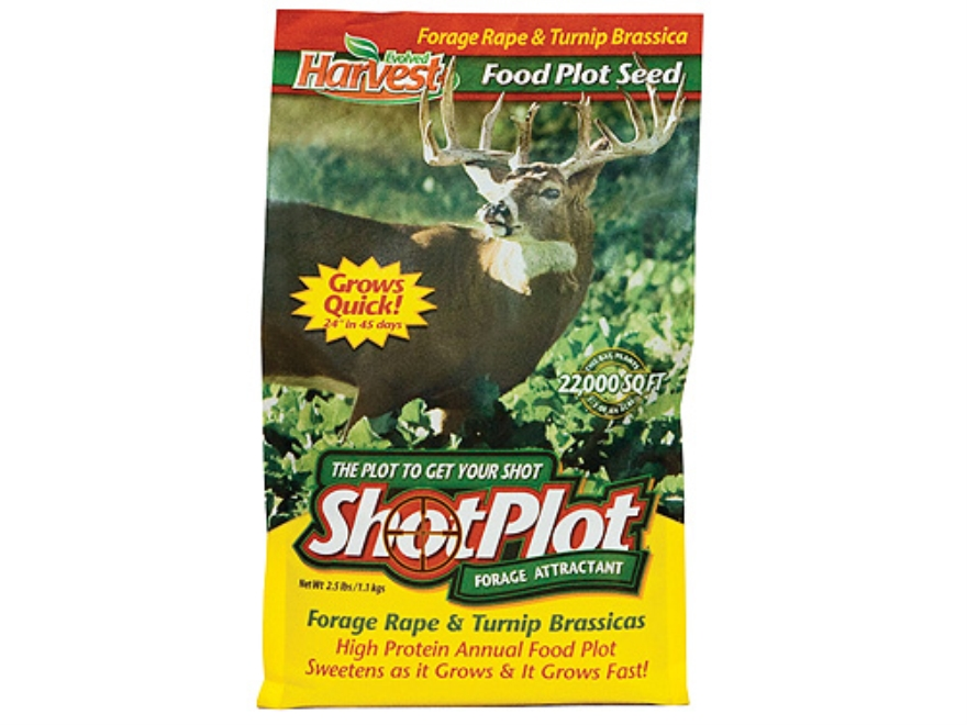 Evolved Harvest ShotPlot Annual Food Plot Seed 2.5 lb