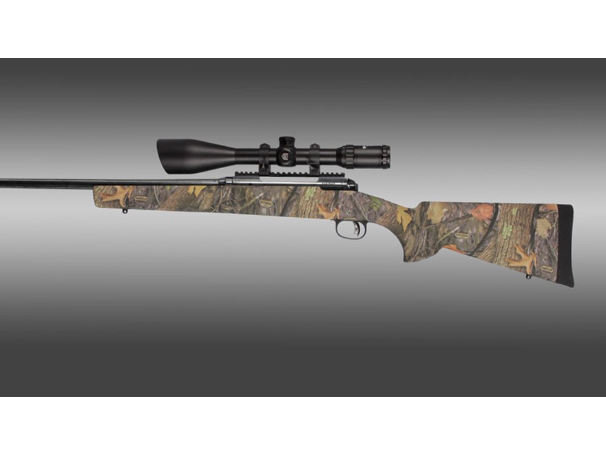 Hogue Rubber OverMolded Rifle Stock Savage 110 111 114 116 Long Action