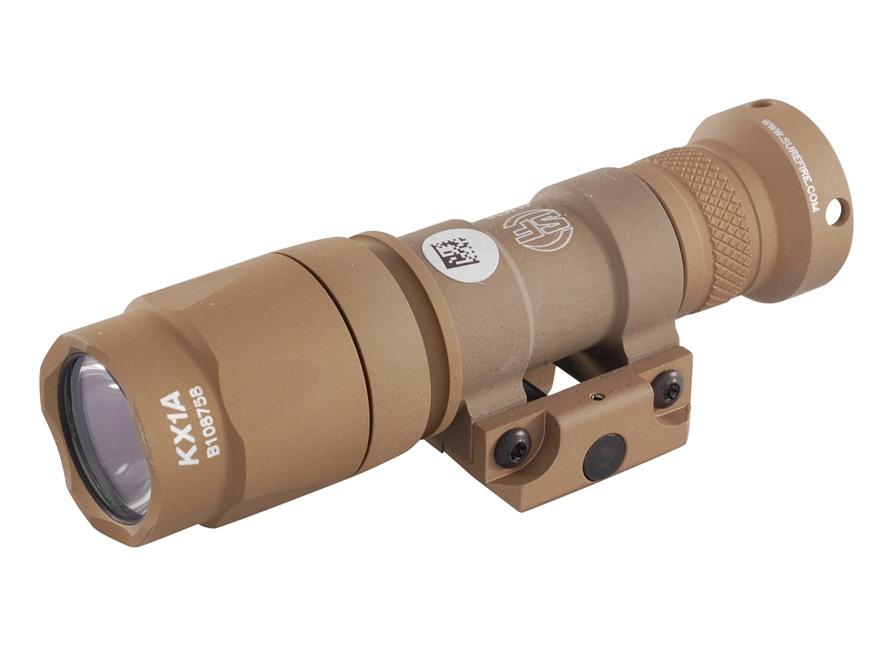Surefire M300A Mini Scout Light Weaponlight LED Bulb Aluminum Tan