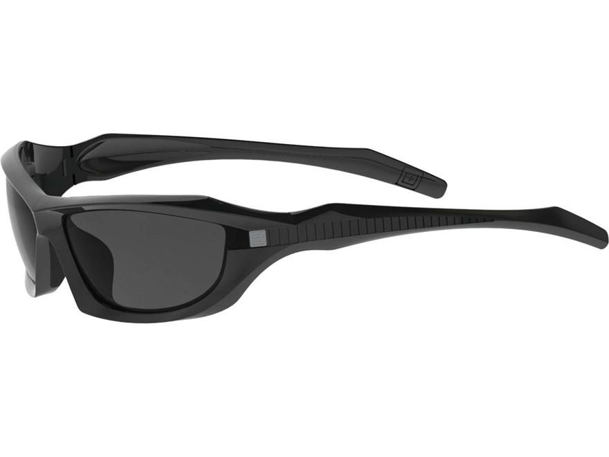 5.11 Burner Full Frame Sunglasses Polymer Smoke