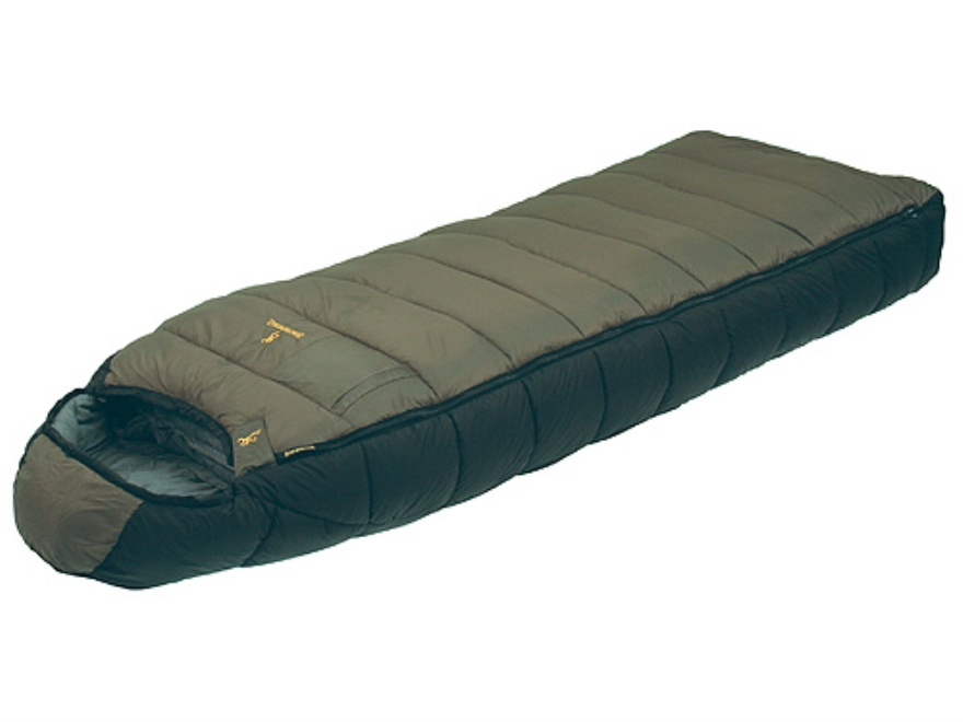 "Browning McKinley Sleeping Bag 36"" x 90"" Nylon Clay and Black"