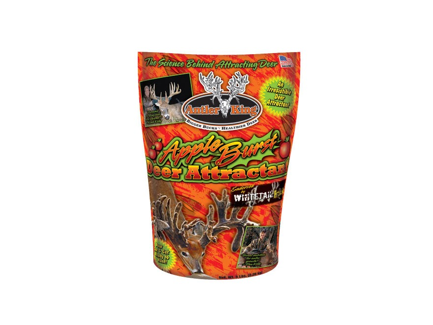 Antler King Whitetail Freaks Apple Burst Deer Attractant Granular 5 lb