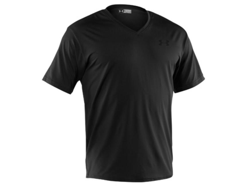 Under Armour Men's Original V-Neck T-Shirt Short Sleeve Synthetic Blend
