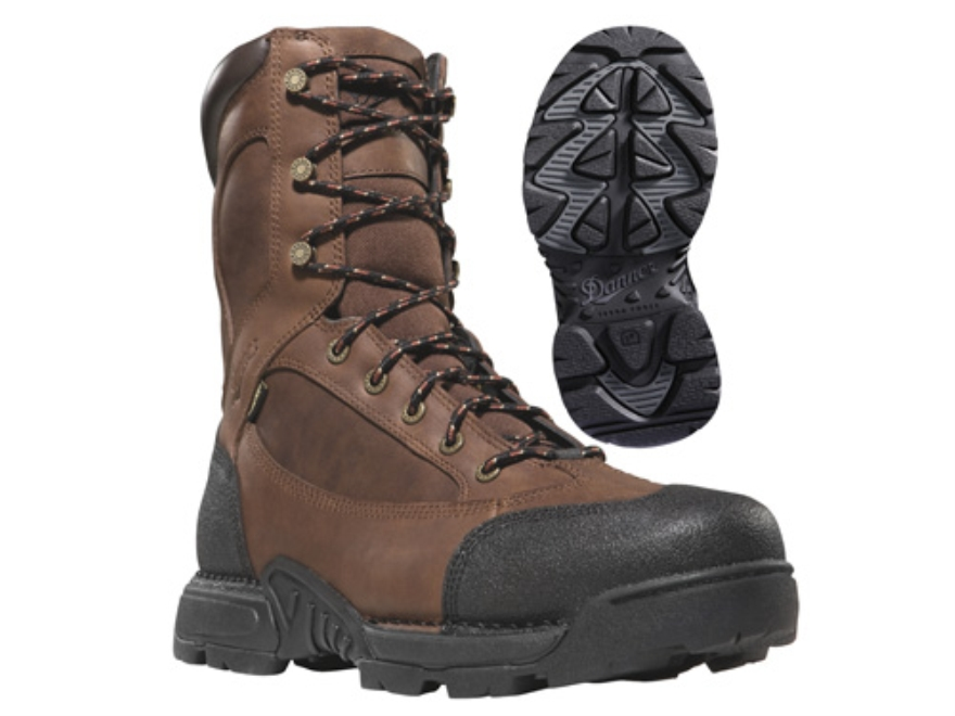 "Danner Pronghorn GTX 8"" Waterproof 200 Gram Insulated Hunting Boots Leather Brown Mens 7 D"