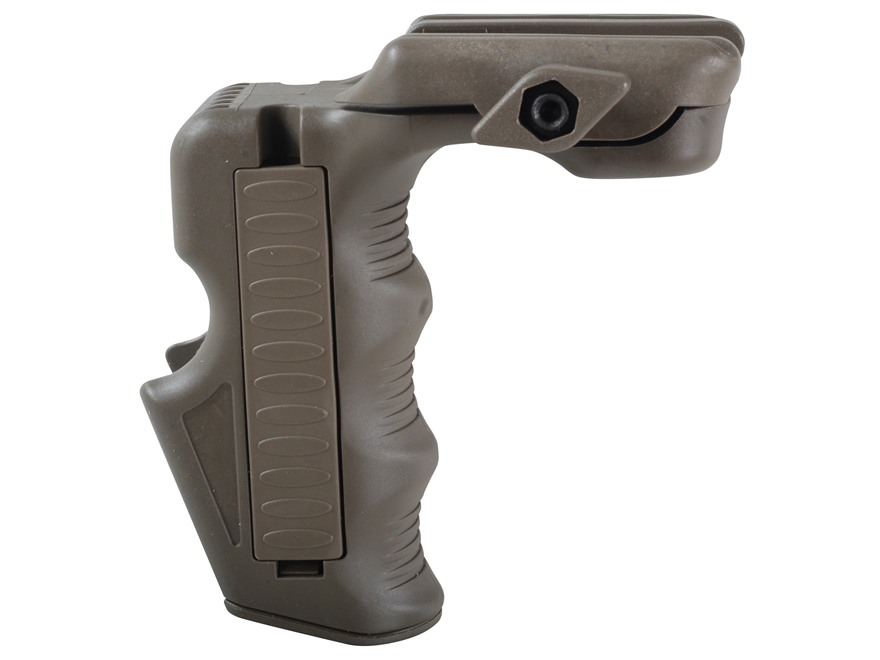 Command Arms MGrip1 Magazine Well CQB Grip with Battery Storage & Dual Pressure Switch ...