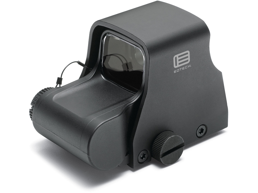EOTech XPS3-2 Holographic Weapon Sight 68 MOA Circle with (2) 1 MOA Dots Reticle Matte CR123 Battery