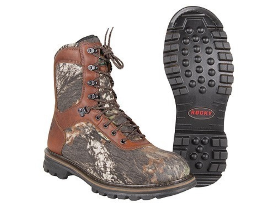 "Rocky CornStalker 9"" Waterproof 600 Gram Insulated Boots Leather and Nylon"