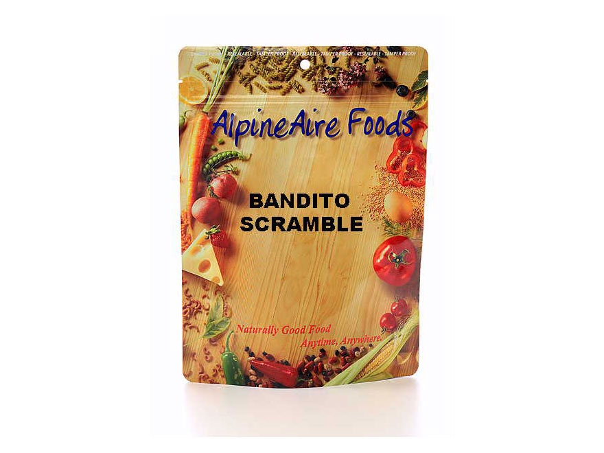 AlpineAire Bandito Scramble Freeze Dried Food 2 Servings