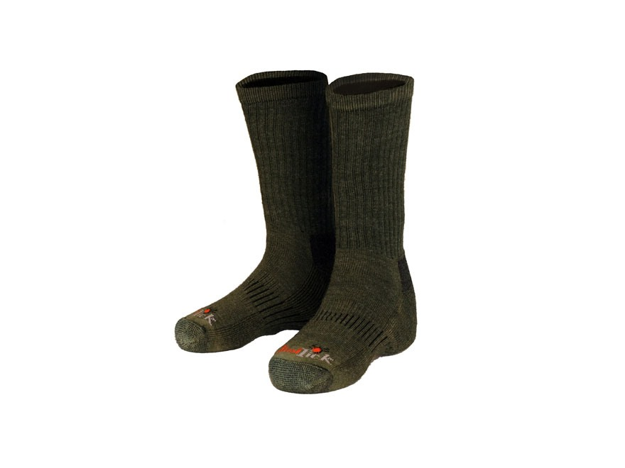 Gamehide Men's Elimitick Socks Polyester and Wool Blend Loden