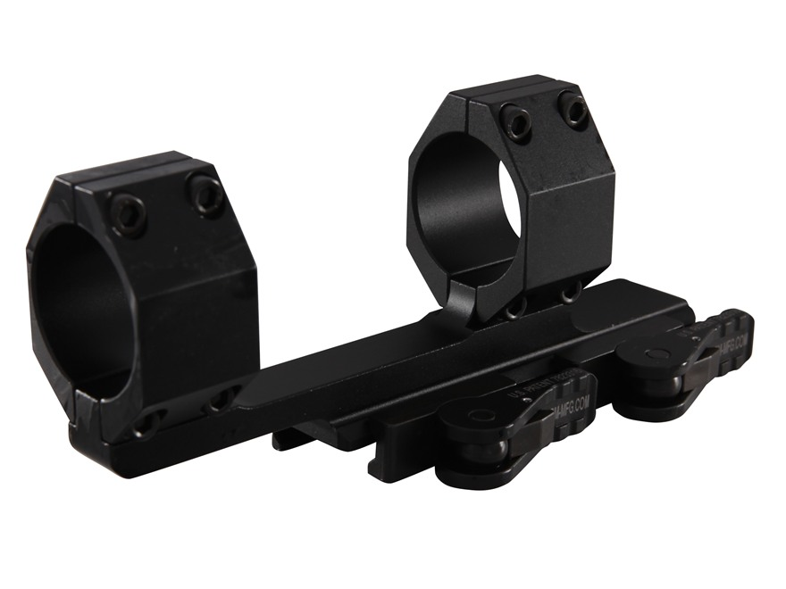 "Vortex Optics Cantilever Quick-Release 1-Piece 2"" Extended Scope Mount Picatinny-Style with Integral 30mm Rings AR-15 Flat-Top Matte"
