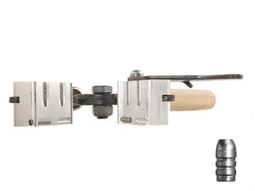 Lee 2-Cavity Bullet Mold C309-113-F 30 Caliber (309 Diameter) 113 Grain Flat Nose Gas C...