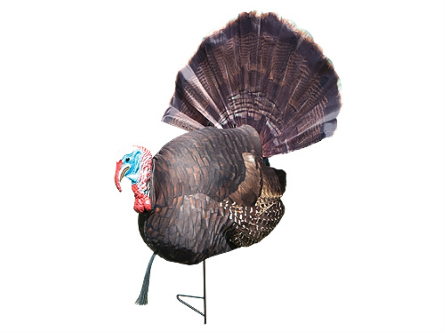 Carry-Lite Bob'n Tail HD Gobbler Turkey Decoy Polymer