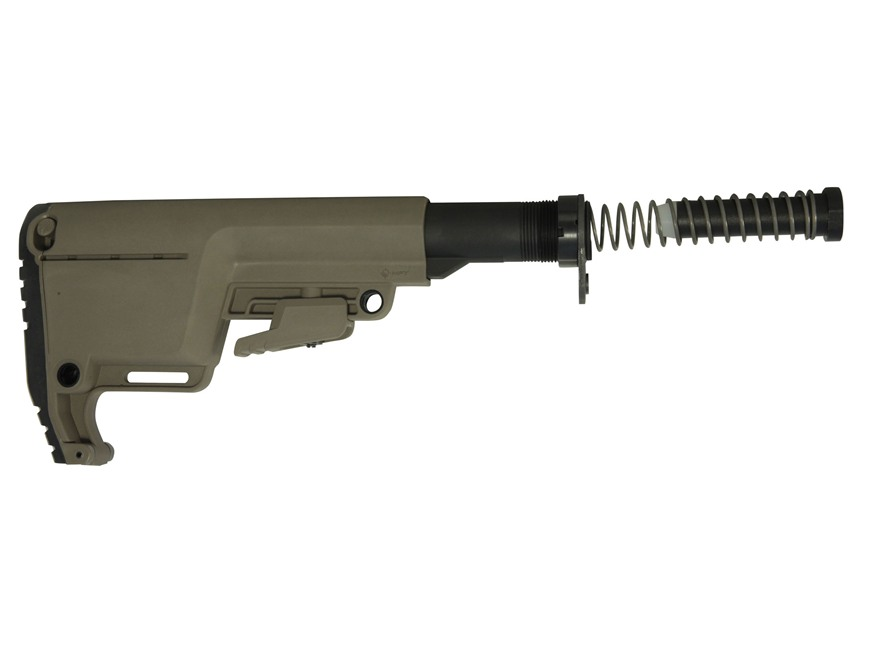 Mission First Tactical Battlelink Utility Low Profile Stock Assembly Collapsible AR-15 Polymer