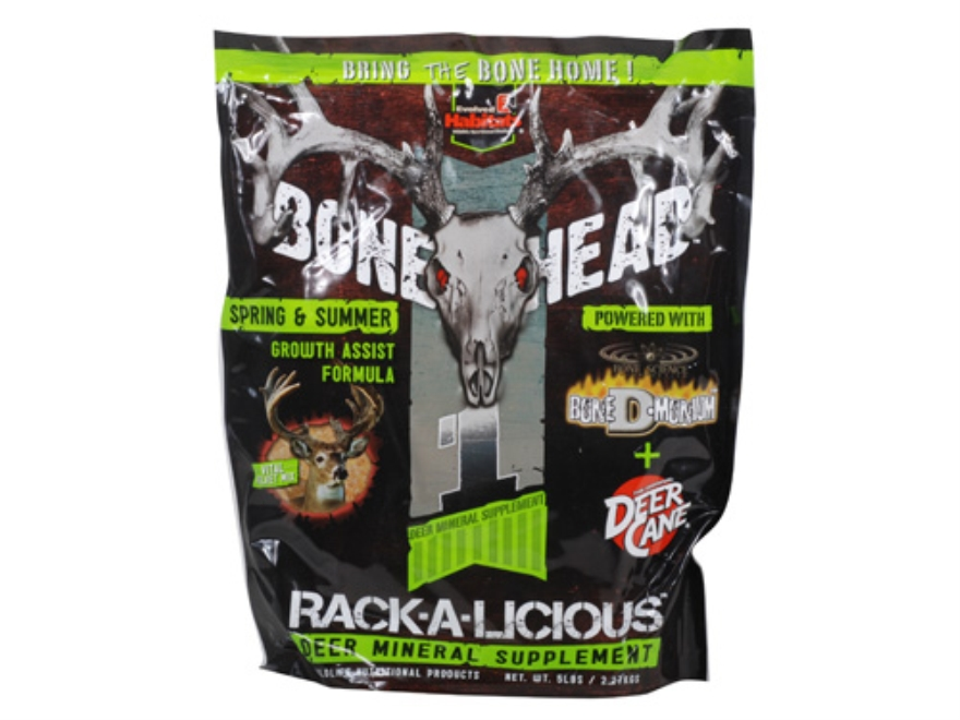 Evolved Habitats Bonehead Spring/Summer Rack-A-Licious Deer Supplement Bag 5lb