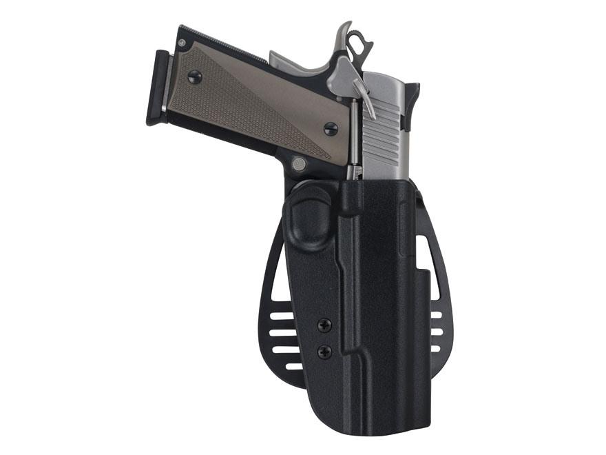 Uncle Mike's Paddle Holster Glock 17, 19, 22, 23, 31, 32, 36 Kydex Black