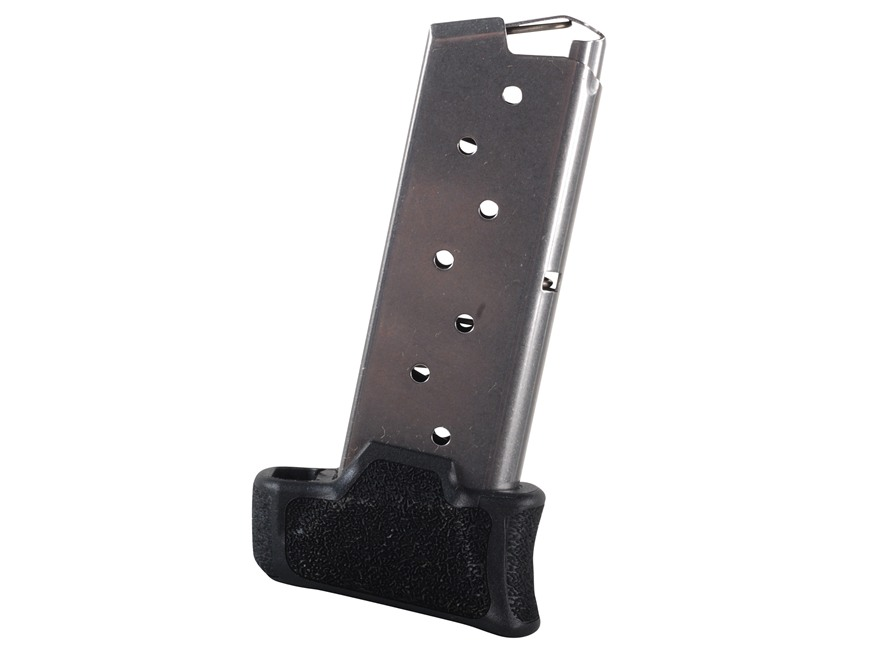 Sig Sauer Magazine Sig Sauer P290 9mm Luger 8-Round with Extended Base Pad Steel Matte