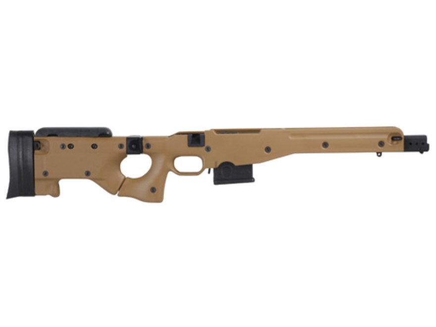 Accuracy International Chassis System (AICS) 2.0 Folding Adjustable Stock Remington 700 Short Action 223 Remington