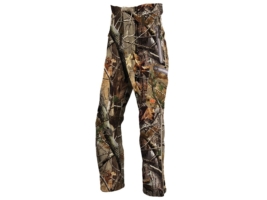 "APX Men's L4 Gale Softshell Pants Polyester Realtree AP Camo 2XL 46-48 Waist 33"" Inseam"