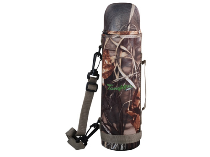 Tanglefree Thermos 32 oz with Neoprene Cover Realtree Max-4 Camo