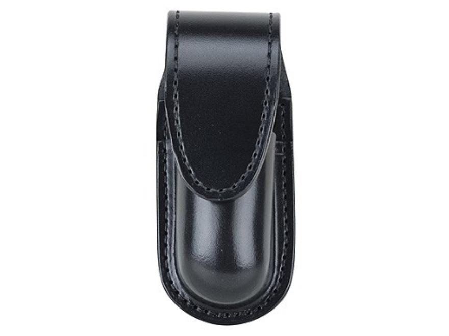 Gould & Goodrich B682 Pepper Spray Holder MK 3, MK 11, Sabre Red MK-3 Hidden Snap Leather Black
