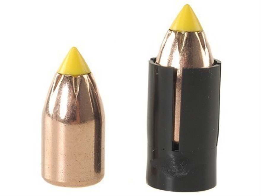 Thompson Center Shock Wave Sabot 50 Caliber with 45 Caliber 250 Grain Polymer Tip Spire Point Bullet Pack of 15