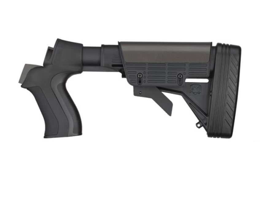 Advanced Technology Talon Tactical 6-Position Collapsible Stock with Scorpion Recoil System Mossberg 500 20 Gauge Black