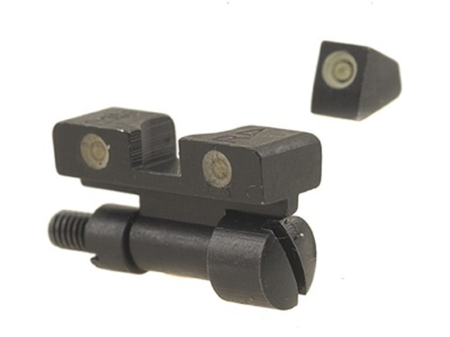 Meprolight Tru-Dot Adjustable Sight Set S&W K, L, N-Frame with Red Insert Front Sight S...