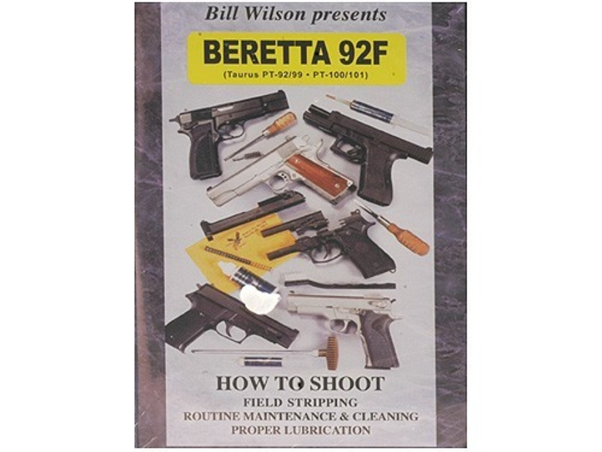 "Wilson Combat Video ""How to Shoot, Clean and Maintain: Beretta 92F"" DVD"