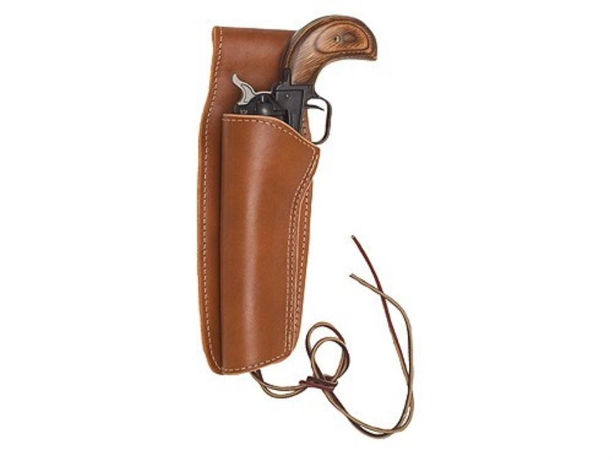 "Hunter 1060 Frontier Holster Heritage Rough Rider 6.5"" Barrel Leather Brown"
