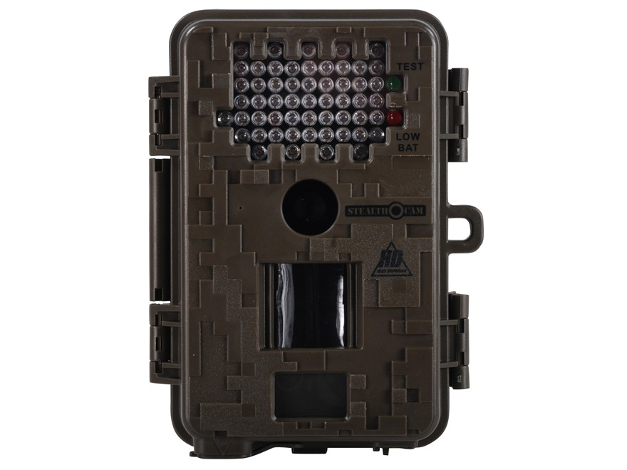 Stealth Cam Jim Shockey Sniper HD Professional Infrared 8 Megapixel Game Camera with 8 AA batteries and 4 GB SD Card Black
