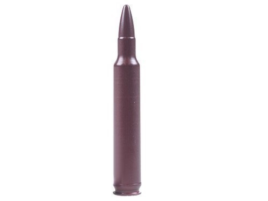 A-ZOOM Action Proving Dummy Round, Snap Cap 300 Weatherby Magnum Aluminum Package of 2