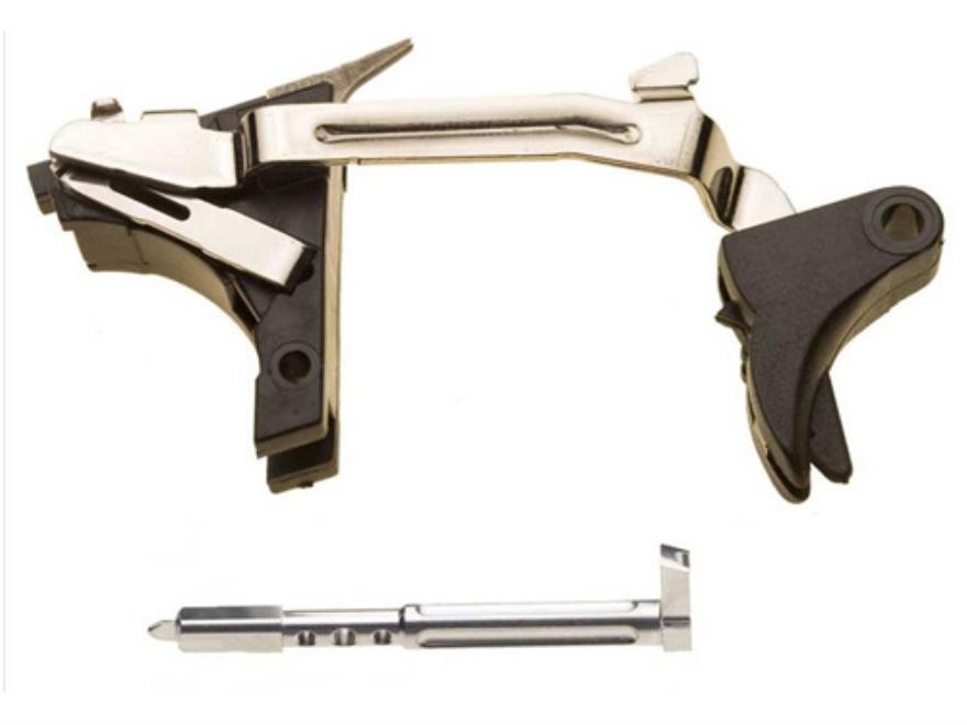 ZEV Technologies Standard Deluxe Drop-In Tactical Trigger and Action Kit Glock Gen 4 9mm Luger Black