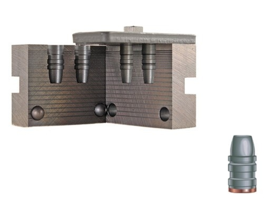 RCBS 2-Cavity Bullet Mold 38-158-SWC 38 Caliber (358 Diameter) 158 Grain Semi-Wadcutter...
