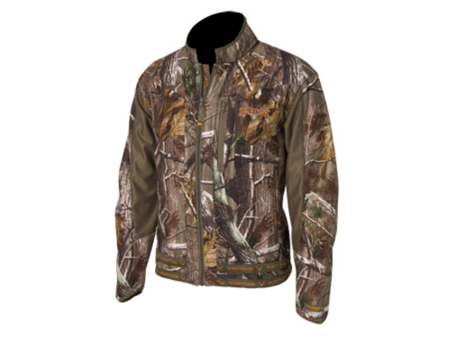 Scent-Lok Men's Mirage Jacket Polyester Realtree AP Camo XL 46-48