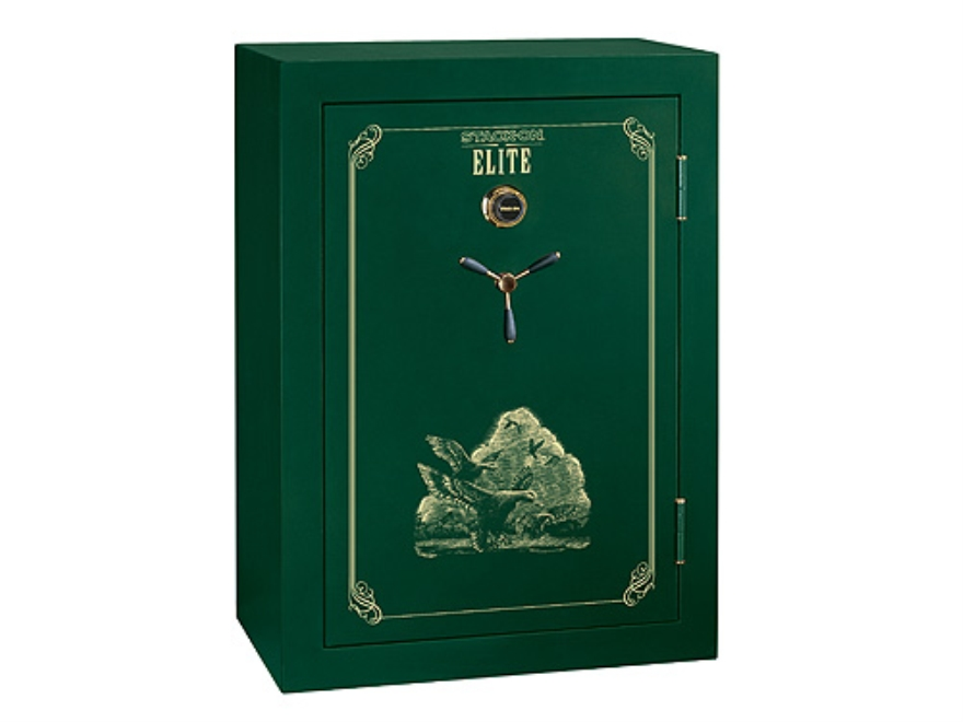 Stack-On Elite 45-Gun Fire-Resistant Safe with Combination LockHunter Green