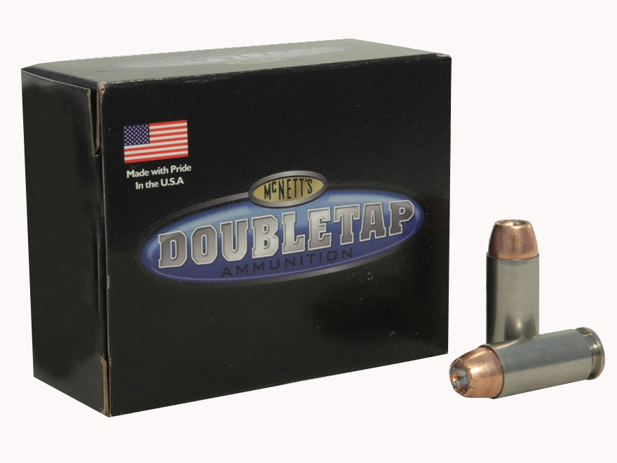 Doubletap Ammunition 10mm Auto 165 Grain Bonded Defense Jacketed Hollow Point Box of 20